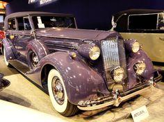 Packard Twelve Convertible Sedan : Rétromobile 2014 : les plus belles voitures de collection - Linternaute.com Automobile