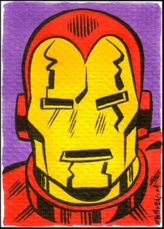 Iron-man SKETCH CARDS FOR SALE by PATRICK OWSLEY at Coroflot.com