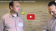Hi folks, here is an interview with tradesman James Owens who attended one of our workshops recently. James is a qualified carpenter from Blanchardstown