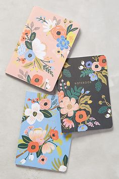 Shop Rifle Paper Co. at Anthropologie. Find your favorite floral printed cards, planners, phone cases & more by Rifle Paper Co. at Anthropologie. Anna Bond, Diy Notebook, Notebook Design, Journal Notebook, Cute Stationary, Stationary Notebook, Cute Journals, Guache, Rifle Paper Co