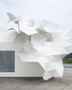 bloomberg pavilion installation ++ akihisa hirata