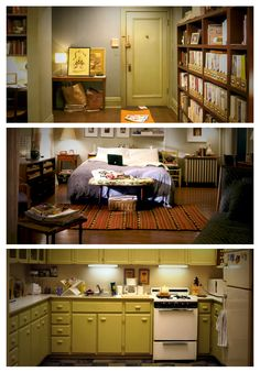 Sex and the City: Carrie Bradshaw's Apartment www.HBO.com