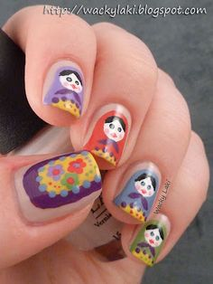 Matryoshka Mani... Not for me but they are cute designs