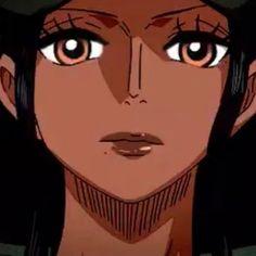 Nico Robin, Icons, Anime, Black, Art, Art Background, Black People, Symbols, Kunst