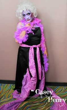 Cool Ursula the Sea Witch Costume... Coolest Halloween Costume Contest