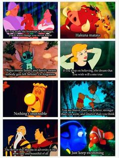 Life lessons from Disney