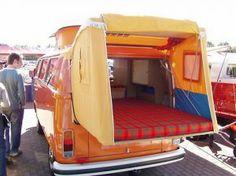 back hatch tent