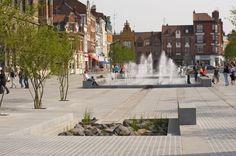 Public Spaces in Armentières by Bruel-Delmar