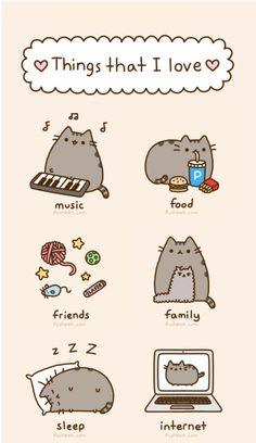 Pusheen the cat :)
