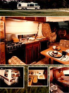 Wheat Motor Company presents The GMC Royale MotorHome Interior