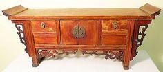 Antique Chinese Petit Altar (3167) Zelkova Wood, Circa 1800-1849