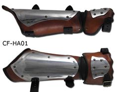 I'd very much like a pair of half gauntlets like this. I guess I need to get to work.