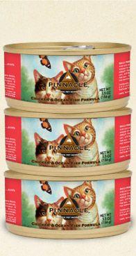Pinnacle® - Chicken & Ocean Fish Recipe Canned Cat Food