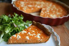 Jesenný bite me tekvicový ošiaľ: tekvicové trio & pumpkin pie so syrom feta.