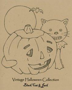 Ol' Halloween Stitch Quilt Pattern Set by Buttermilk Basin ~ Staci West