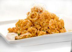 Peruvian arroz con mariscos