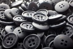 Huge Pile of Old Bull Lee Buttons