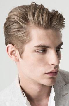 Men's Hairstyles Quiff. Photo: Mango Man. #menshairstyles #menshair #quiff