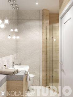 prysznic we wnęce - zdjęcie od MIKOŁAJSKAstudio - Łazienka - Styl Skandynawski…