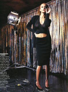 Elle italia march 1996photographer isabel snydermodel susan holmes
