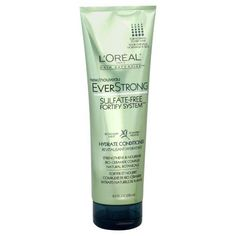 LOreal Paris EverStrong Hydrate Conditioner, 8.5-Fluid Ounce***Bio-ceramide complex,100% sulfate-free with natural botanicals and no harsh salts,100% vegan,.