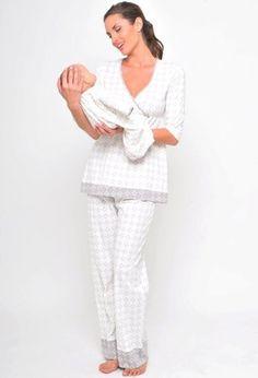 La Leche League Intimates 3-Piece Jacquard Pajama Set with Nursing Tank Top Loungewear (L Black Jacquard): http://www.amazon.com/La-Leche-League-Intimates-Loungewear/dp/B0021DAZAE/?tag=greavidesto05-20