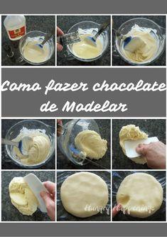 Como fazer chocolate de modelar  #modelagem #receitas #chocolateparamodelar