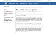 Trump's WH website doesn't talk about climate change or LGBT rights
