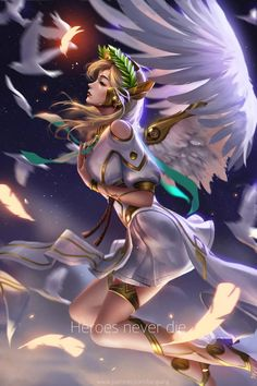 Mercy fanart :) i love mercy since the overwatch came out :) my first hero i played in overwatch. Overwatch Mercy, Overwatch Comic, Overwatch Fan Art, Fanart Overwatch, Overwatch Drawings, Overwatch Genji, Overwatch Widowmaker, League Of Legends, Mercy Fanart