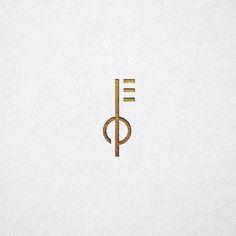 Modern and Minimal Branding Design Initials Logo, Monogram Logo, Ep Logo, Lock Logo, Designers Gráficos, Property Logo, Logo Simple, Security Logo, Best Logo Design