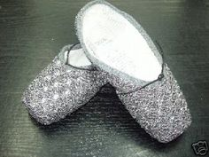 Crystal pointe shoes