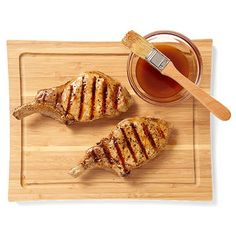 Cider syrup is perfect to brush over chicken or pork.