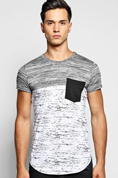 Space Panel Pocket T Shirt
