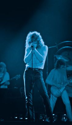 Led Zeppelin, Falkoner Theatre, Copenhagen 1979 © Photo: Christer Fahlström