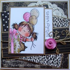 Fi's cards and crafts: Peek a boo...