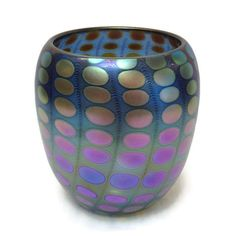 Philabaum Glass - Nutty Bowl in Blue