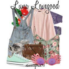 Luna Lovegood by disneykid95 on Polyvore featuring H&M, Full Tilt, Missoni, Converse, Miss Selfridge, 21dgrs, ELSE and Luna