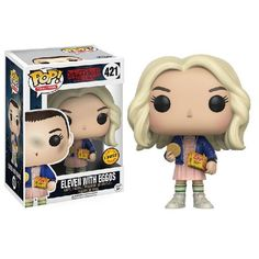 Vinyl Figure Eleven with Eggos (Chase) Stranger Things Pop! Vinyl Figure Eleven with Eggos (Chase)Stranger Things Pop! Vinyl Figure Eleven with Eggos (Chase) Figurines D'action, Pop Figurine, Figurines Funko Pop, Funko Figures, Funk Pop, Disney Pixar, Film Disney, Disney Pop, Stranger Things Funko Pop