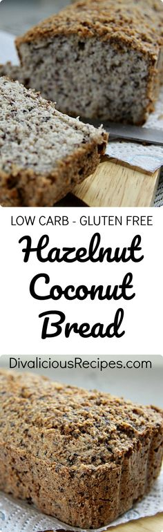 This hazelnut coconut bread is a great way to help you on the path to give up sugar. It ticks most of the boxes too! Gluten free, grain free, low carb and Paleo.