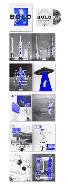 Bolo Magazine design. #Editorial #Layout #magazine #bold #blue #blackandwhite #layout
