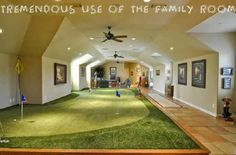Now that's a man cave