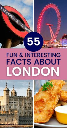The British capital is a mind-blowing city. These fun and interesting facts about London will astonish you and prove you should visit as soon as possible. | facts about London | London facts | Things to know about London | What you should know about London | #london #londonfacts #londontravel