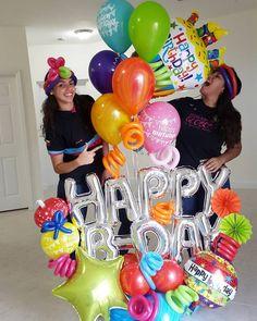 """1,038 Me gusta, 33 comentarios - BalloonDecorations (@decoracionesglobos) en Instagram: """"¡Happy B-Day! Sorpresaaaaaaaaaaaaaaaaaa Dilo con @decoracionesglobos . . Contacto: MIAMI:…"""""""