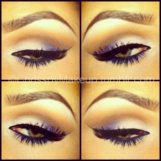 f the eye shadow..how can I get my eyebrows to look like that!