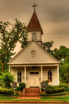 HDR Church - League City, TX by jfahler on Flickr.