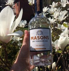 Masons Yorkshire Tea Gin. Wonderful tea aromas on the nose and a clean tea finish.