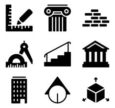 icon packs of building Building Icon, Font Free, Search Icon, Edit Icon, All Icon, Icon Pack, Icon Font, Vector Icons, Textures Patterns