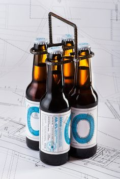 C10 - The 1st 'Architect' Beer on Packaging of the World - Creative Package Design Gallery