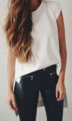 white + leather