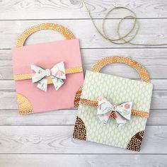 Paper purse card